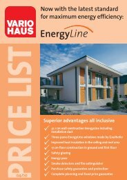 Price list EnergyLine 0410 - Vario Haus