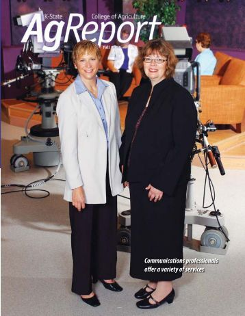 Ag Report Fall 08 - K-State Research and Extension - Kansas State ...