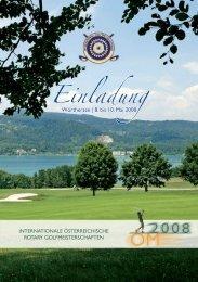Einladung - Rotary Golf Austria
