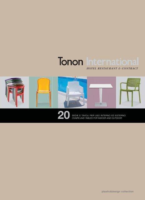Catalogo 20 Plastic Design Collection Tonon International