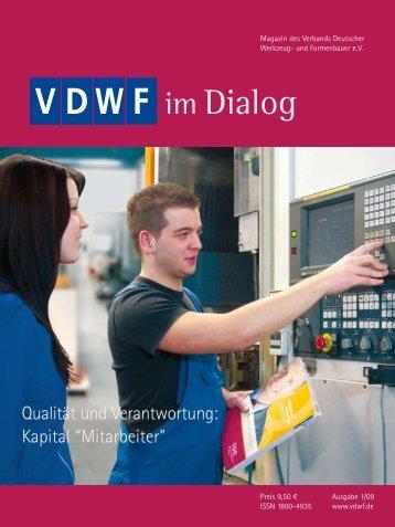 Vom Design über den Prototyp bis zur Serie - VDWF