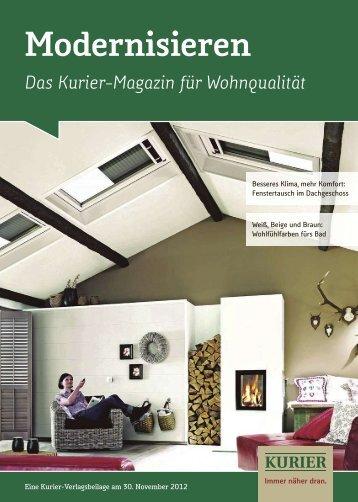 Modernisieren - Verlagsbeilagen des Nordbayerischen Kurier ...