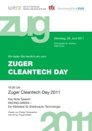 Flyer (PDF) - Businesspark Zug