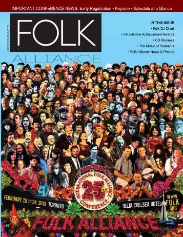 Read It Here - Folk Alliance