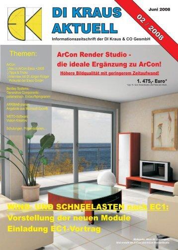 di kraus aktuell di kraus aktuell - ArCon Visuelle Architektur