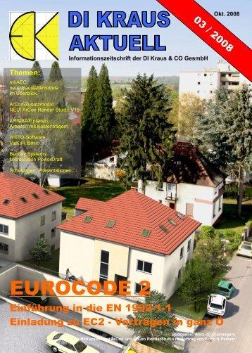 DI KRAUS AKTUELL Ausgabe 2008 / 3 - ArCon Visuelle Architektur