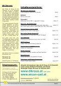 DI KRAUS AKTUELL Ausgabe 2008 / 3 - ArCon Visuelle Architektur - Page 2