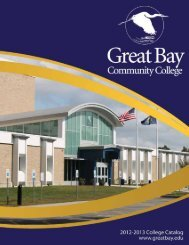 GBCC 2012-2013 Catalog - Great Bay Community College