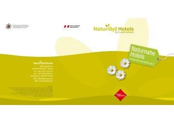 """Wer sind die """"Pleasant Hotels Europe""""? - Naturidyll Hotels"""