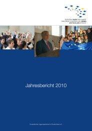 Ausgaben 2010 - Europäisches Jugendparlament in Deutschland ...