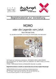 Begleitmaterial Momo oder Die Legende vom Jetzt - Dschungel Wien