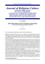 relkultur67.pdf - Goethe-Universität