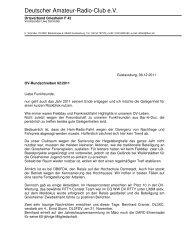 Deutscher Amateur-Radio-Club e.V. - Ortsverband Griesheim F42