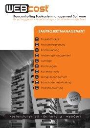 webCost Infoblatt - pdf - pm1.projektmanagement