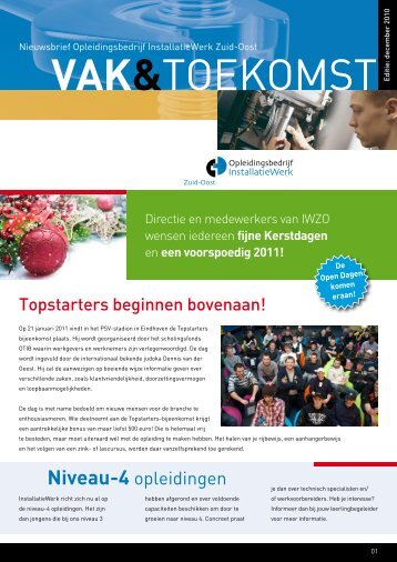 IWZO december 2010 - Installatiewerk Nederland