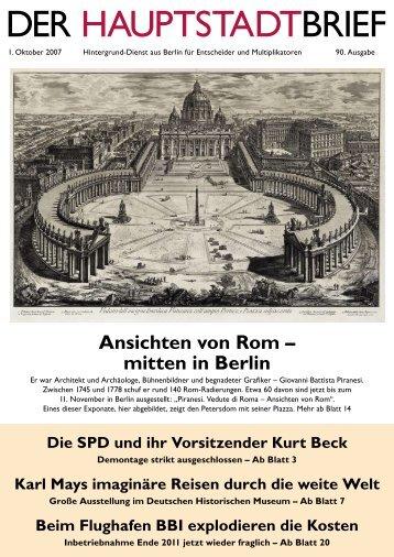 Berlin - Der Hauptstadtbrief