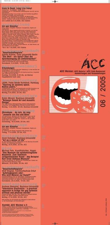 Juni 2005 - ACC Weimar