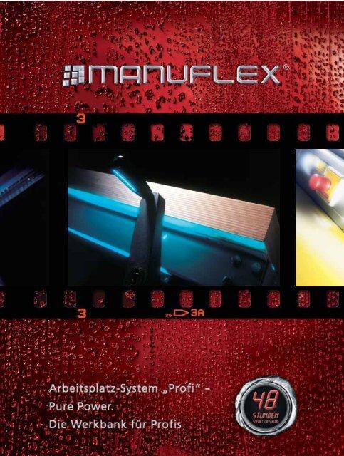1500x700 mm NEU Werkbank MANUFLEX Multiplex 40 mm