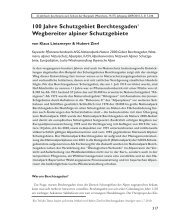 100 Jahre Schutzgebiet Berchtesgaden Wegbereiter alpiner ...