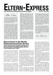 Marcel Ernst in die Physik- Nationalmannschaft berufen