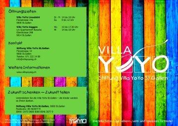 Stiftung Villa YoYo St.Gallen