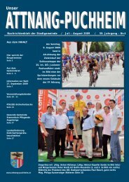 Ausgabe Juli-August 2009 - Attnang-Puchheim
