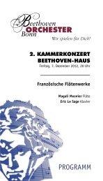 Wir spielen für Dich! - Das Beethoven Orchester Bonn
