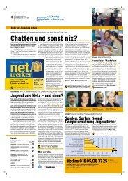 Net.report Chatten Und Sonst Nix? - Stiftung Digitale Chancen