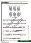 Wer regierte in der mittelalterlichen Stadt? - Netzwerk Lernen - Seite 7