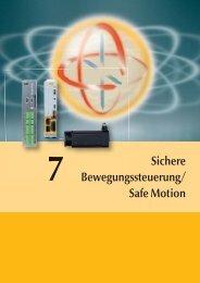 Sichere Bewegungssteuerung/ Safe Motion