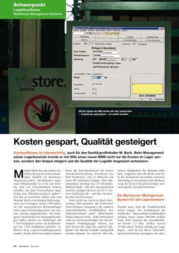 lesen Sie den ganzen Bericht... (PDF) - bei der M.Bach GmbH