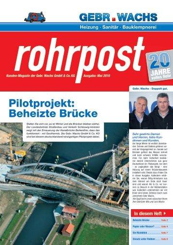 Ausgabe Mai 2010 (PDF) - Gebr. Wachs Rostock