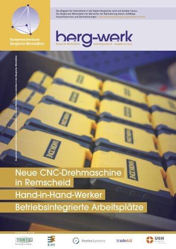 Neue CNC-Drehmaschine in Remscheid Hand-in-Hand-Werker ...