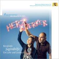 Herzwerker Berufsinfo Jugendhilfe: Ein Licht- und Lesebuch (XXL