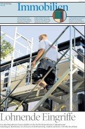 Aus alter Bausubstanz Neues schaffen ist das Ziel bei Renovationen ...
