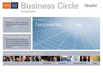 Business Circle - Heads!