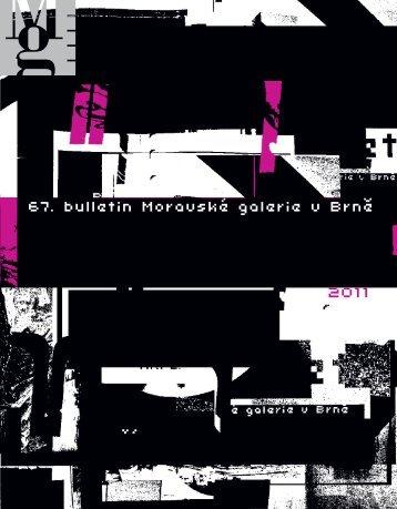 67. bulletin Moravské galerie v Brně - Vila Tugendhat