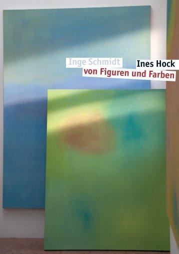 Katalog (PDF) - Ines Hock