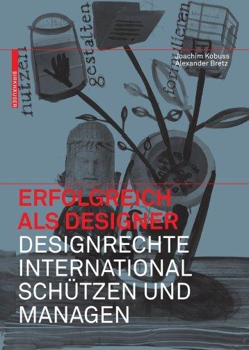 erfolgreich als designer designrechte ... - Joachim Kobuss