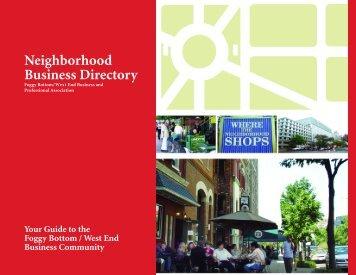 GW Neighborhood Business Directory - Neighborhood - George ...