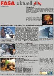 Ausgabe 1/2011 - Fasa AG