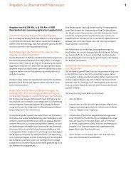 Angaben und Erläuternder Bericht des Vorstands zu - E.ON AG