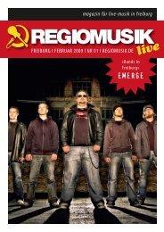 Komplette Magazin ist auch hier als PDF download - Regiomusik