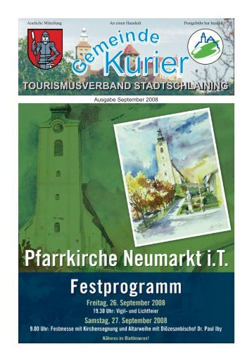 Sept 08 Titelseite.cdr - Stadtschlaining