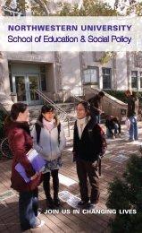 SESP undergraduate viewbook - School of Education & Social ...