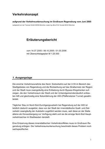 Verkehrskonzept Erläuterungsbericht - Freie Wähler Landkreis ...