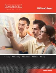 School of Business Advisory Boards - The Campaign for SIUE