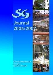 SG-Journal 2006/2007 - Schwalmschule Treysa