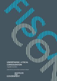 Undertaking a Fiscal Consolidation.pdf - The Institute for Government
