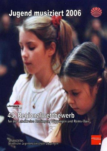 """Regionalwettbewerb """"Jugend musiziert"""" am 04. und 05 ... - Stauferpark"""